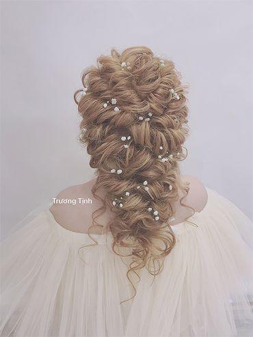 Kiểu tóc cô dâu đẹp - sang trọng - Trương Tịnh Wedding - Hình 14