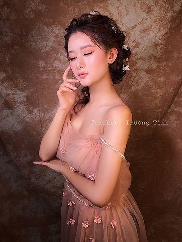 Trang điểm cô dâu đẹp - Trương Tịnh Wedding - Hình 16