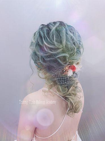 Kiểu tóc cô dâu đẹp - sang trọng - Trương Tịnh Wedding - Hình 15