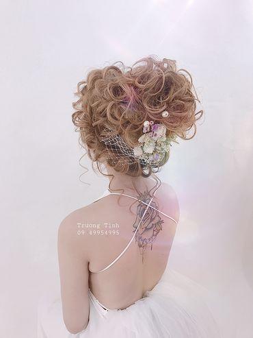 Kiểu tóc cô dâu đẹp - sang trọng - Trương Tịnh Wedding - Hình 11