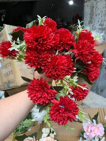Hoa vải cao cấp - Midori Shop - Phụ kiện trang trí ngành cưới - Hình 137