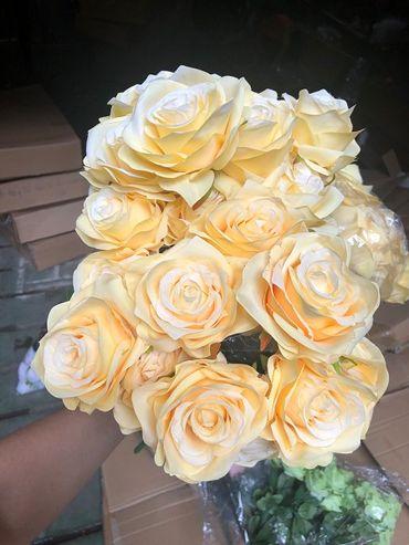 Hoa vải cao cấp - Midori Shop - Phụ kiện trang trí ngành cưới - Hình 102