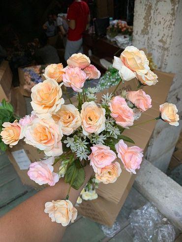 Hoa vải cao cấp - Midori Shop - Phụ kiện trang trí ngành cưới - Hình 105