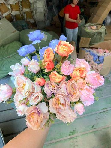 Hoa vải cao cấp - Midori Shop - Phụ kiện trang trí ngành cưới - Hình 113