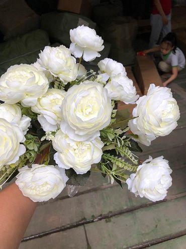 Hoa vải cao cấp - Midori Shop - Phụ kiện trang trí ngành cưới - Hình 107