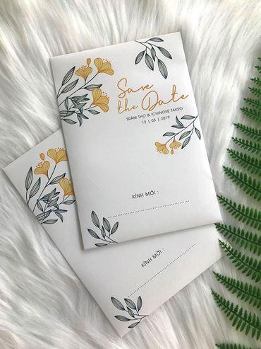 Những cánh Hoa Bay - Thiệp cưới nhà Pin - Hình 1
