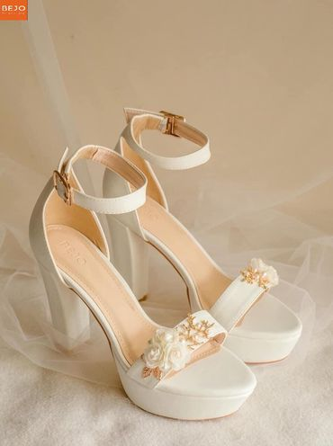 Giày cưới 12cm  - Giày cưới / Giày Cô Dâu BEJO BRIDAL - Hình 2