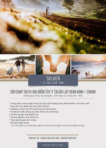 Silver - TuArt Wedding Đà Lạt - Hình 1