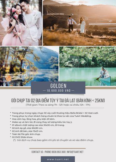 Golden - TuArt Wedding Đà Lạt - Hình 1