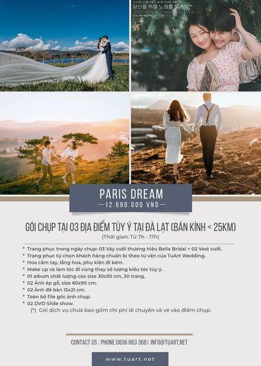 Paris Dream - TuArt Wedding Đà Lạt - Hình 1