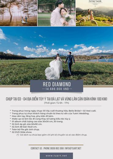 Red Diamond - TuArt Wedding Đà Lạt - Hình 1