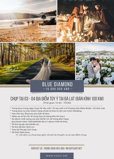 Blue Diamond - TuArt Wedding Đà Lạt - Hình 1