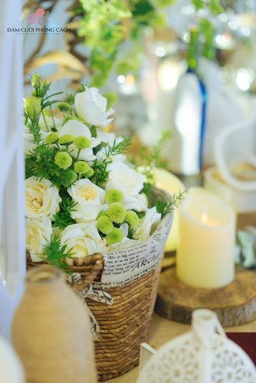 Combo cưới tiết kiệm phong cách Mộc II - Tự Trang Trí Đám Cưới - Hình 11