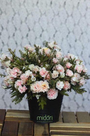 Hoa vải cao cấp - Midori Shop - Phụ kiện trang trí ngành cưới - Hình 43