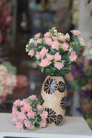 Hoa vải cao cấp - Midori Shop - Phụ kiện trang trí ngành cưới - Hình 45