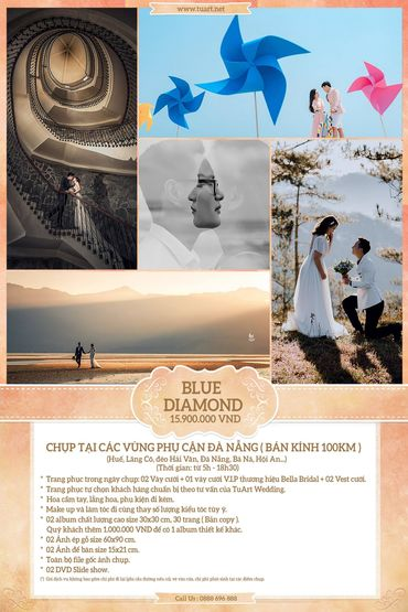 Blue Diamond - TuArt Wedding Đà Nẵng - Hình 1