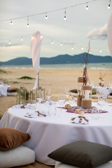 Không gian tiệc cưới bên biển - Sheraton Grand Danang Resort - Hình 12