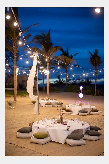 Không gian tiệc cưới bên biển - Sheraton Grand Danang Resort - Hình 14