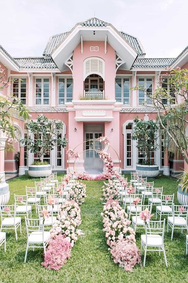 Sân vườn Dinh thự Pink Pearl  - JW Marriott Phu Quoc Emerald Bay Resort & Spa - Hình 11