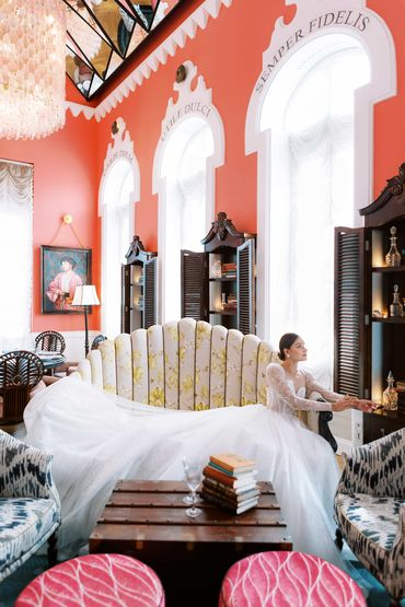 Sân vườn Dinh thự Pink Pearl  - JW Marriott Phu Quoc Emerald Bay Resort & Spa - Hình 5