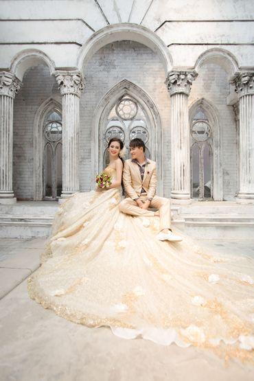 Ảnh cưới Phim Trường Jeju - Áo cưới Lucky Anh&Em - Hình 4