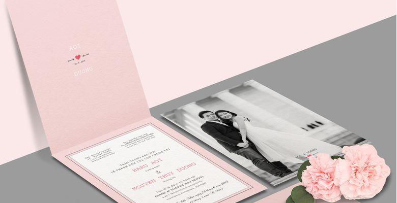 TRAQUÉ WEDDING PAPER - Thiệp cưới cao cấp Trà Quế - Quận 1 - TP Hồ Chí Minh - Hình 1