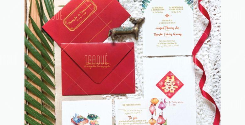 TRAQUÉ WEDDING PAPER - Thiệp cưới cao cấp Trà Quế - Quận 1 - TP Hồ Chí Minh - Hình 2