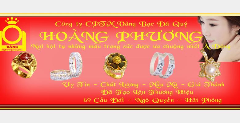 Nhẫn cưới Vàng Hoàng Phương - Quận Ngô Quyền - Hải Phòng - Hình 1
