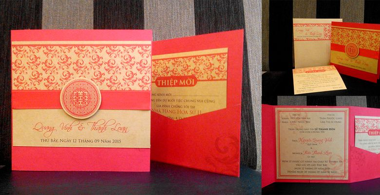 Thiệp cưới PGN - TP Hồ Chí Minh - Hình 4
