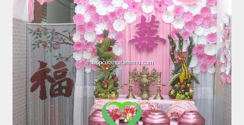 Công ty dịch vụ cưới hỏi chuyên trang trí nhà ngày đám cưới - Quận Gò Vấp - TP Hồ Chí Minh - Hình 2