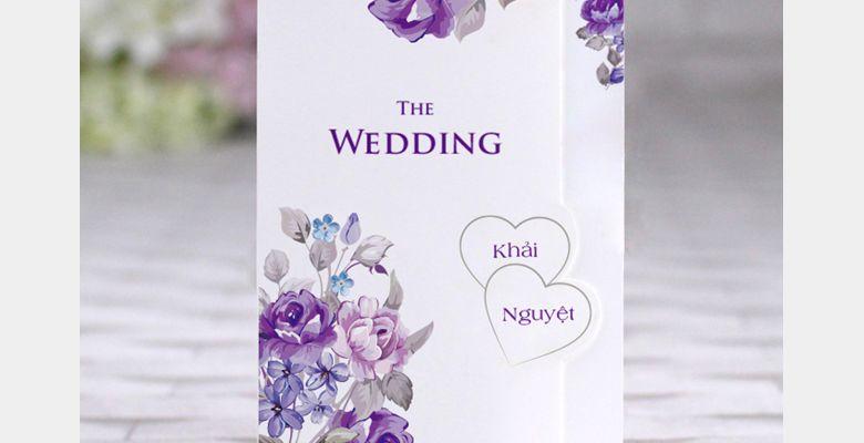 Thiệp cưới The Simple - TP Hồ Chí Minh - Hình 3