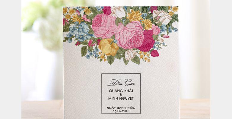 Thiệp cưới The Simple - TP Hồ Chí Minh - Hình 5