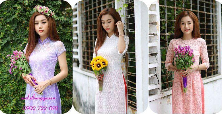 Áo dài bưng mâm quả Tơ Hồng - Quận Tân Bình - TP Hồ Chí Minh - Hình 1