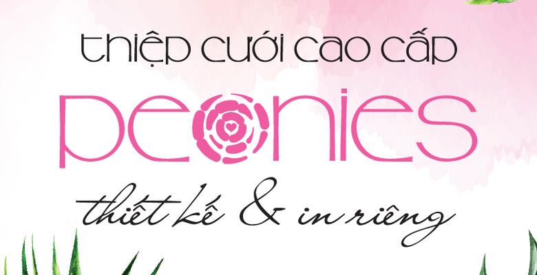 Peonies - Thiệp cưới Thiết kế - TP Hồ Chí Minh - Hình 1