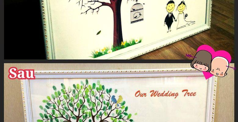 Tranh vân tay cưới MiHi - Hà Nội - Hình 3