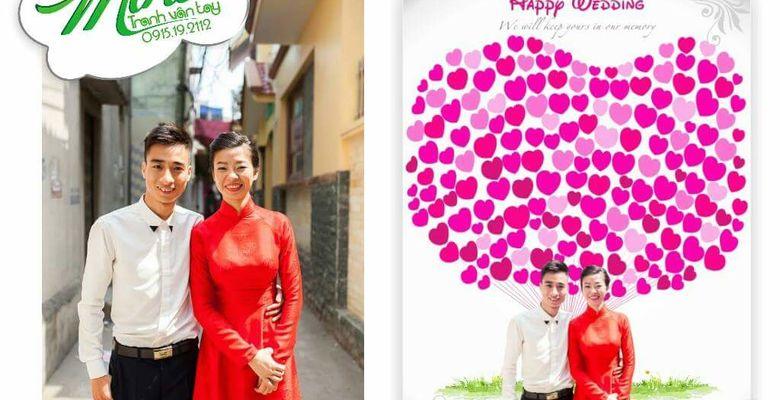 Tranh vân tay cưới MiHi - Hà Nội - Hình 10