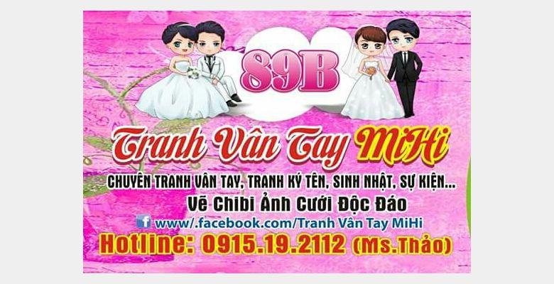 Tranh vân tay cưới MiHi - Hà Nội - Hình 6