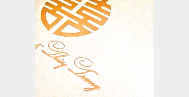 Thiệp cưới Tuyết Mai - An Giang - Hình 2
