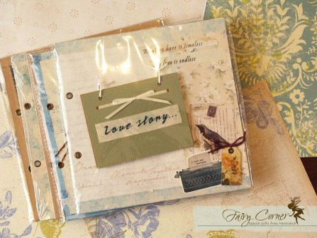 Scrapbook cưới - layer & cover