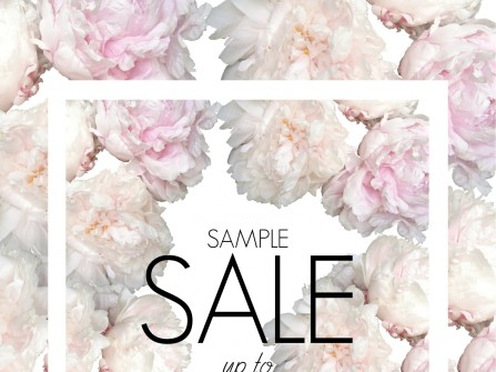 One week Sample Sale
