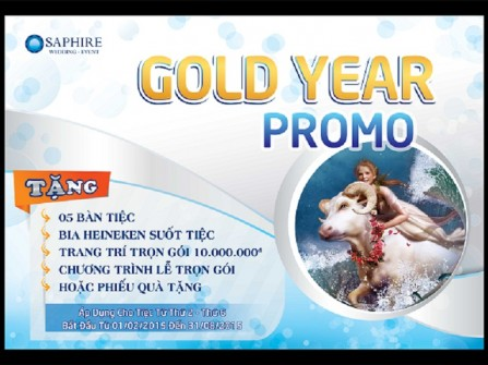 GOLD YEAR PROMO 2015