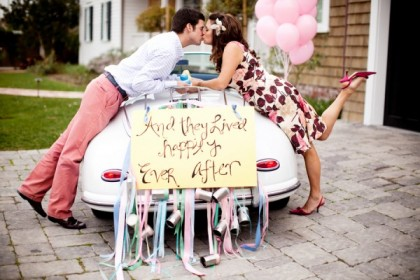 Getaway-Car-Engagement-wedding-getaway-car-wedding-ideas-wedding-party-blog