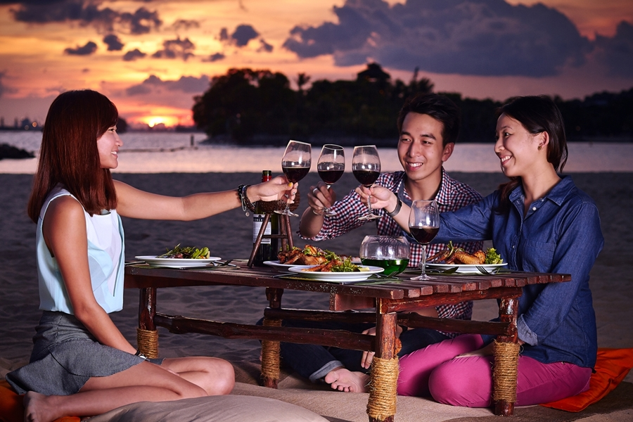 BBQ by the Beach - photo credit by Sentosa