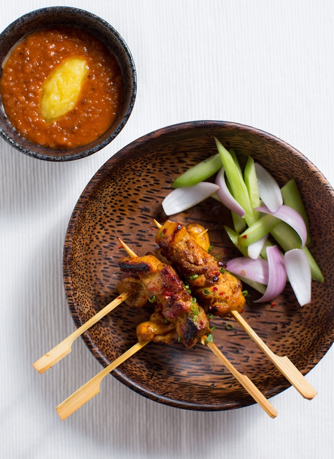Satay Trio - Nyonya Mobile - Photo credit by A Better Definition