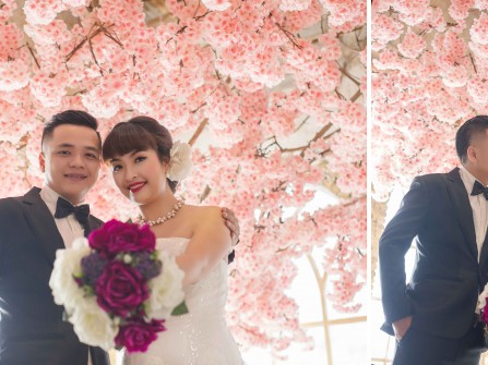 Album cưới chụp ở The Vow