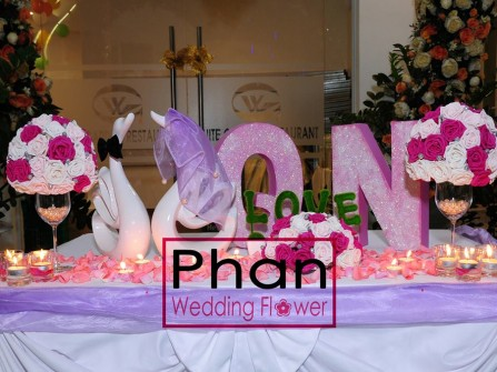 PHAN Wedding Flower