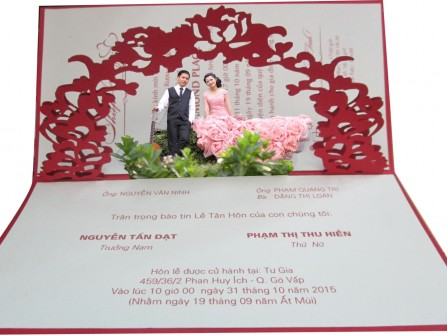 Wedding invitation - THIEPCUOIMAUMOI.COM