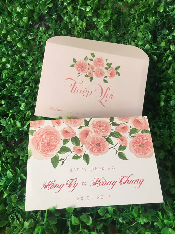 Wedding Invitation Design - Hà Nội