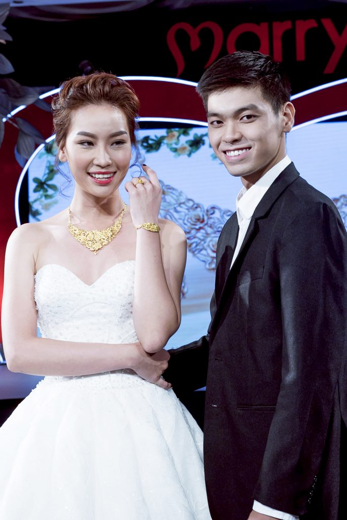 BST PNJ tại Marry Wedding day PNJ: Thuy Linh