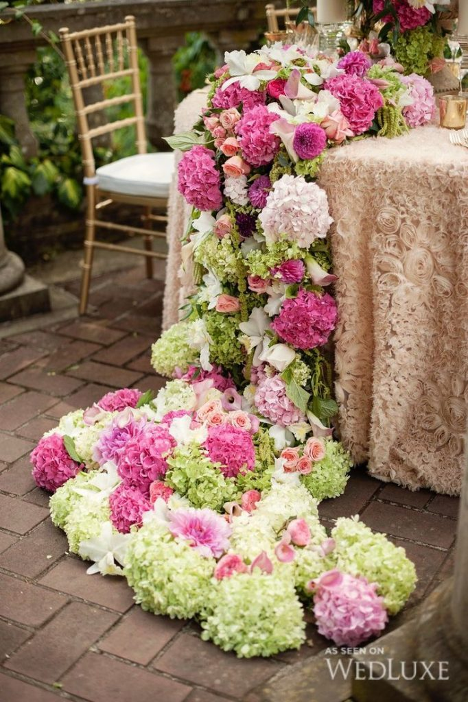 floral_table_runner_wedding